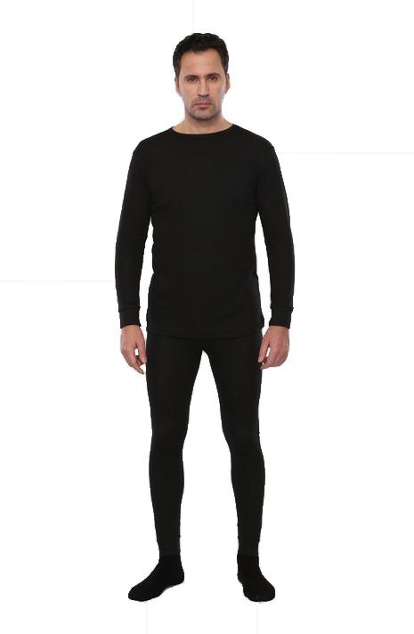 Термобельё Лимес для средней активности, • кальсоны и рубашка, черное (56) URSUS БЕЛ500