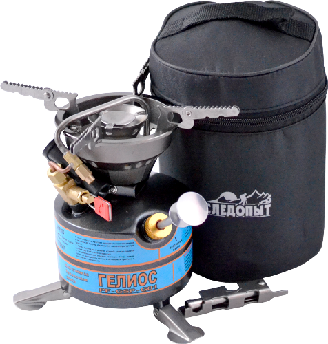 Плита Портативная Жидкотопливная Следопыт • Гелиос PF-GSP-G01