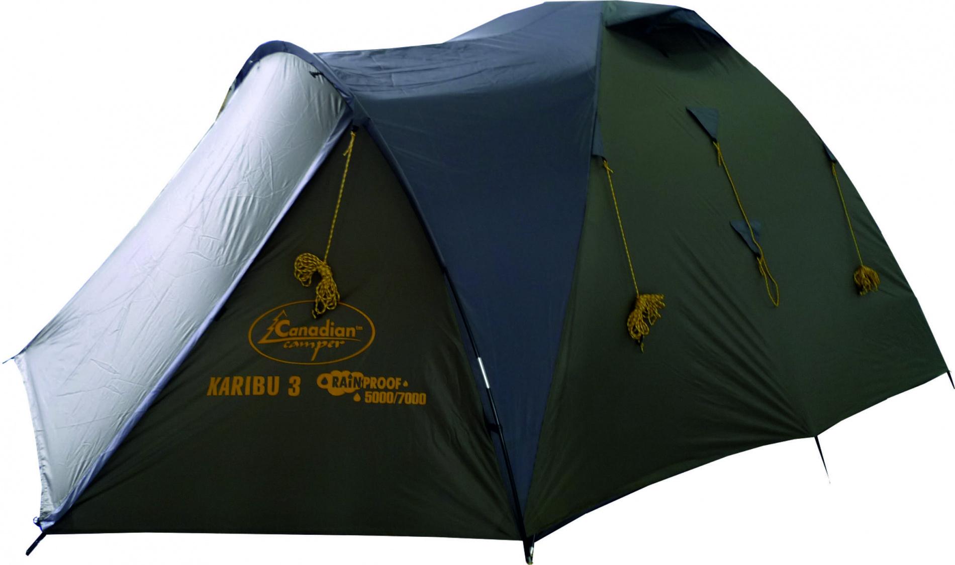 Палатка Canadian Camper KARIBU 3 (цвет forest дуги 9,5 мм)Палатки<br>Палатка KARIBU 3 (цвет forest дуги 9,5 мм)<br><br>Цвет: зеленый