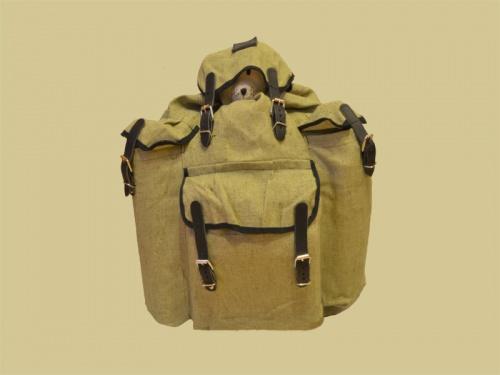 Рюкзак СССР (Омск) 35 литровРюкзаки<br>Классический рюкзак системы Абалакова. <br>Основной объём 45 литров и три дополнительных <br>кармана для удобства быстрого доступа к <br>вещам. Материал брезент.<br><br>Сезон: все сезоны<br>Материал: Брезент (51% лен, 49% хлопок), пл. 530 г/м2, ОП