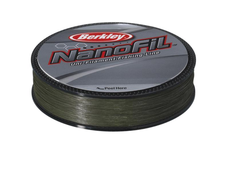 Леска плетеная BERKLEY NanoFil 0.1832mm (125m)(9.723kg)(зеленая) Леска плетеная<br>Berkley NanoFil - новое слово в рыболовных лесках. <br>Это уникальное явление на рыболовном рынке, <br>впервые удалось достигнуть высокой прочности <br>и низкой растяжимости при крайне малых <br>диаметрах. Можно сказать, что леска Nanofil <br>не является ни плетеной леской, ни моно <br>ниткой, это нечто стоящее посередине. Материалом <br>для лески служит все та же известная всем <br>Dyneema, но в отличие от лесок прошлого поколения <br>микроволонка соединены между собой на молекулярном <br>уровне, таким образом, возросшая модульность <br>материала позволила создать леску меньшего <br>диаметра, с отличными показателями на разрыв <br>и растяжимость. Сделано в США.<br>