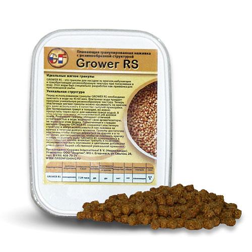 Насадка Gf Grower Rs 4.5Мм 0.280ЛНасадки<br>Насадка GF GROWER RS 4.5мм 0.280л Grower RS - это гранулы <br>D 4,5 мм для насадки на крючок в любое время <br>года, набухающие и приобретающие резинообразную <br>текстуру при погружении в воду. GROWER RS это <br>гранулы для насадки на крючок, набухающие <br>и приобретающие резинообразную текстуру <br>при погружении в воду. Перед использованием <br>гранулы GROWER RS необходимо замочить в воде <br>на 45–60 минут. Впитанная вода придает гранулам <br>уникальную резинообразную текстуру. Теперь <br>эластичные мягкие гранулы можно насаживать <br>на крючок или даже использовать в качестве <br>сыпучей прикормки. Для превращения гранул <br>в тонущие, их можно пропустить через насос <br>для накачки гранул водой. В этом случае <br>они могут использоваться для донной ловли. <br>Разбухшие гранулы обладают отличной устойчи <br>востью в воде, выделяют свои ароматизаторы <br>не теряя при этом фор мы. Размоченные и ставшие <br>мягкими гранулы GROWER RS сохраняют эластичную <br>текстуру и могут использоваться как наживка <br>на крючок в течение долгого времени, стабильность <br>в воде 30 часов. Гранулы доста<br><br>Сезон: лето