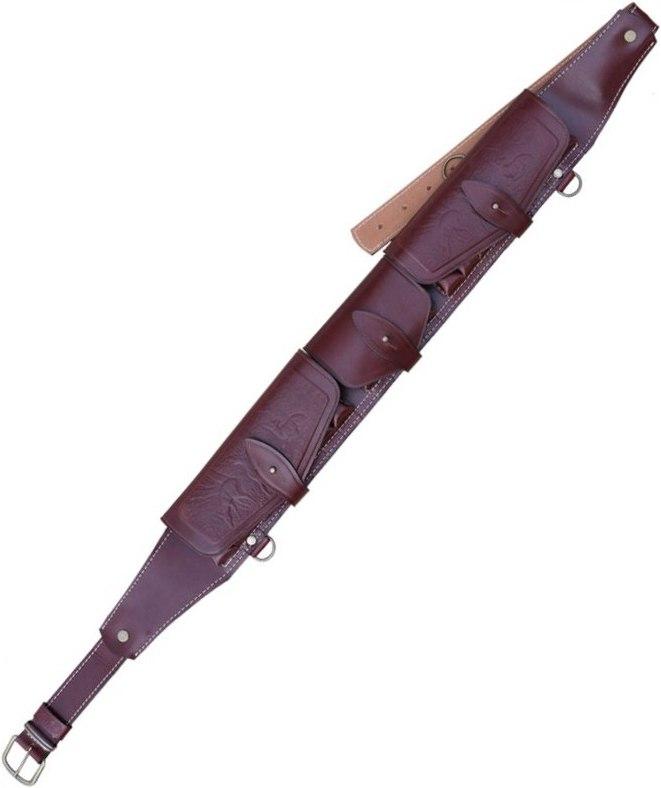 Патронташ ХСН К-12 20 патронов (VIP) как охотничьи патроны дробовые калибр 12