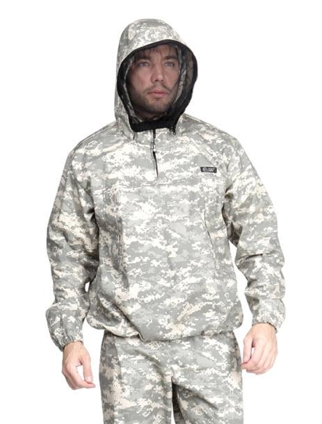 Костюм Sobol Егерь (60-62, 170-176)Костюмы неутепленные<br>Изготовлен из ткани рип-стоп, которая отличается <br>прочностью, обеспечивает защиту от дождя <br>и ветра. Отлично подойдет для охоты и рыбалки. <br>В комплект входит куртка и брюки. КУРТКА: <br>- застегивается на молнию; - нагрудный фигурный <br>карман; - регулируемый капюшон; - эластичные <br>манжеты; - съемная москитная сетка в капюшоне; <br>- низ куртки на резинке. БРЮКИ: - эластичный <br>пояс; - шлевки под ремень; - накладной карман; <br>- внутренний чулок; - регулируемый низ штанин.<br><br>Пол: мужской<br>Размер: 60-62<br>Рост: 170-176<br>Сезон: лето<br>Цвет: серый