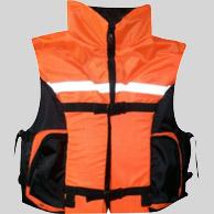 Жилет спасательный Сильвер-1 р.48-52 (оранж.)Спасательные жилеты<br>Описание модели: Предназначен для использования <br>при проведении работ на плавсредствах, <br>для водных видов спорта, рыбалки, охоты. <br>Жилет является индивидуальным страховочным <br>средством, регулируется по фигуре человека <br>при помощи системы строп. Ткань верха: Oxford <br>Внутренняя ткань: Taffeta Наполнитель: плавучий <br>НПЭ. Размер: 48- 52 Цвет: оранжевый Рекомендуемый <br>вес человека не более (по размерам): 48-52 — <br>80 кг. Застежка: фастекс / пластик, молния <br>Два объемных кармана на молнии. Вертикальные <br>гибкие рельефы. Воротник усилен вставками <br>наполнителя.<br>