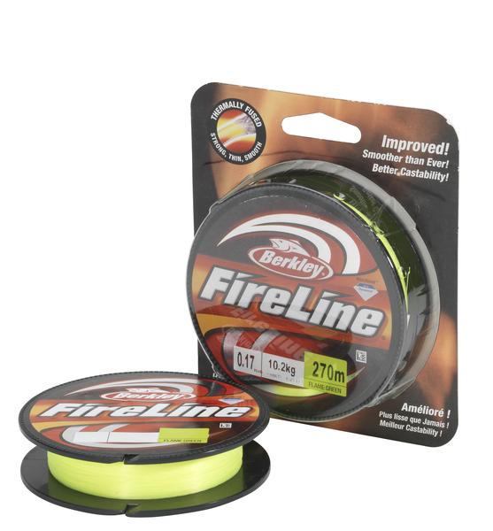 Леска плетеная BERKLEY FireLine Flame Green 0.12mm (110m)(6.8kg)(флуор.-зеленая)Леска плетеная<br>Шнур исключительно гладкий и круглый в <br>сечении, позволяет выполнять дальние забросы <br>и самое главное – удивительно прочный. <br>Цвет флуор.-зеленый. - современная улучшенная <br>упаковка, позволяющая видеть шнур и потрогать <br>его.<br>