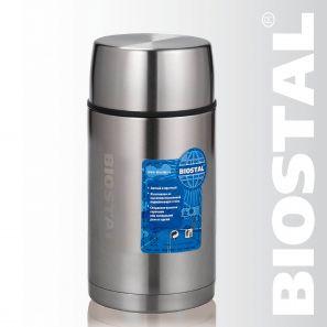 Термос Biostal Авто NRP-1200 1,2л (широкое горло,суповой, Термосы<br>Легкий и прочный Сохраняет напитки и продукты <br>горячими или холодными долгое время Изготовлен <br>из высококачественной нержавеющей стали <br>Корпус покрыт защитным прозрачным лаком <br>Предназначен для первых и вторых блюд С <br>крышкой-чашкой и дополнительной пластиковой <br>чашкой Характеристики: Объем: 1,2 литра Высота: <br>22,5 см Диаметр: 10,8 см Вес: 760 г Размеры упаковки: <br>11,3см х 11,3см х 23,4см<br>