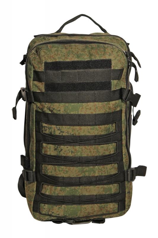 Рюкзак тактический Woodland ARMADA - 1, 20 л (цифра)Рюкзаки<br>Тактические рюкзаки идеально подойдут <br>для охоты и рыбалки, туристических путешествий, <br>походов. Рюкзаки изготовлены из высококачественной <br>ткани Oxford 600 с пропиткой для защиты от проникновения <br>влаги. Вместительность модели регулируется <br>компрессионными боковыми ремнями на фастексах. <br>Плотная спинка с мягкими вставками Airmesh <br>и длина плечевых ремней обеспечивают комфорт <br>и равномерное распределение нагрузки. Особенности: <br>- два вместительных отделения - компрессионные <br>утяжки по бокам и снизу - боковые карманы <br>- поясной ремень для распределения нагрузки. <br>Объем 20 л. Цвет: камуфляж цифра Материал: <br>полиэстер 100%<br><br>Пол: унисекс<br>Цвет: зеленый