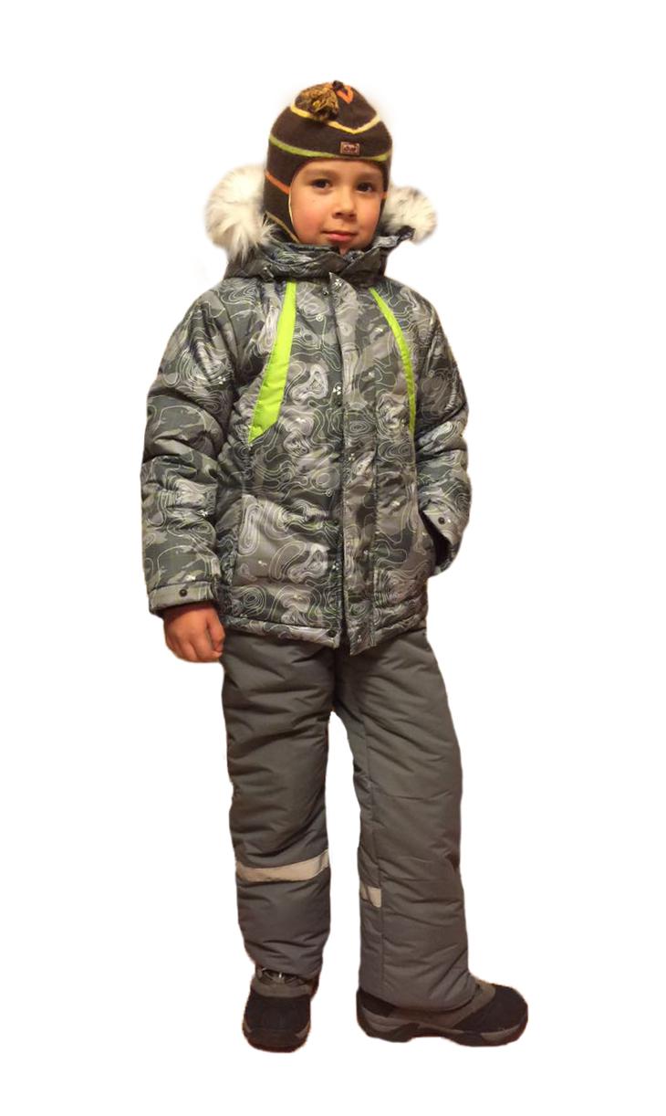 Костюм зимний детский Ралли-1 (128)Костюмы утепленные<br>Зимний костюм, состоит из куртки и полукомбинезона. <br>Воротник-стойка. Капюшон с отстёгивающимся <br>искусственным мехом, регулируется по обзору <br>утяжками. Манжеты по низу рукавов изготовлены <br>из хлопчатобумажной трикотажной рибаны. <br>Центральная застёжка-молния закрыта ветрозащитной <br>планкой. По низу штанин имеются чехлы с <br>эластичной тесьмой. Отвороты по низу штанин <br>и рукавов позволяют регулировать длину. <br>Верхняя ткань - Таслан, полиэстер 100% Подкладка <br>- флис Наполнитель - синтепон 400г/кв.м. Температурный <br>режим: от -5 до -15°С<br><br>Рост: 128<br>Сезон: зима<br>Материал: Taslan (100% полиэфир), пл. 110гр/м2