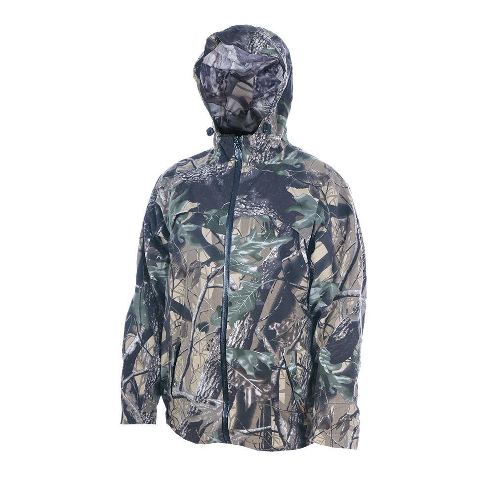 Непромокаемый маскировочный костюм ХСН Костюмы неутепленные<br>Изготовлен из нешуршащей влагостойкой <br>синтетической ткани. Все швы проклеены. <br>В комплект входит куртка и брюки. Особенности: <br>- молнии - влагозащищенные; - вентилируемая <br>кокетка; - застегивается на молнию; - утягивающийся <br>капюшон.<br><br>Пол: мужской<br>Размер: 54 - 56/ 170<br>Сезон: лето<br>Цвет: зеленый<br>Материал: Oxford 250 (100% п.э.)