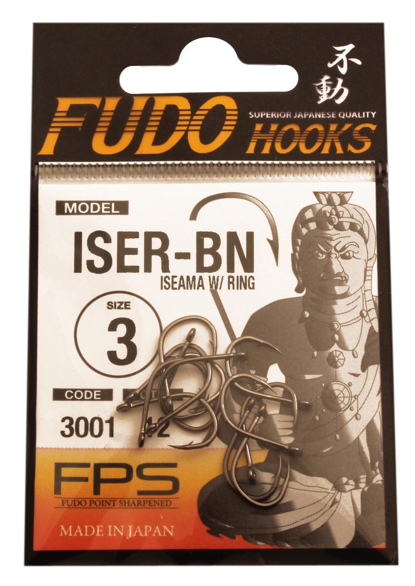Крючок FUDO ISEAMA W/RING №3 BN (3001) (12шт)Одноподдевные<br>Рыболовные крючки FUDO, производства Японии, <br>являют собой сочетание лучших материалов <br>, лучших технологий и наилучших человеческих <br>навыков. Основными характеристиками крючков <br>являются : 1 ) оптимальная форма -с точки <br>зрения максимального улова. 2) Экстремальный <br>заточка крюка , которая сохраняется при <br>длительной ловле. 3) Отличная эластичность, <br>что позволяет им противостоять деформации. <br>4) Общая коррозионная стойкость в процессе <br>производства , благодаря нескольким патентам <br>в области металлургии и производства техники. <br>Сталь с управляемым содержания углерода <br>-это те материалы, которые применяются в <br>производстве крючков. Эти материалы, в виде <br>калиброванной проволоки ,изготавливаются <br>исключительно для инжиниринговой службы <br>FUDO . После чего, крючок подвергается двум <br>различным методом для заточки : механическим <br>и химическим. Во время заточки, уровень <br>остроты контролируется онлайн , что в итоге <br>приводит к идеальному повторению всей серии. <br>Прочность крючка реализуется через печи <br>, где система компьютерной помощи регулирования <br>температуры , позволяет достичь точности <br>в производстве в 0,01 градуса по Цельсию, <br>и времени обработки с точностью 0, 001 секунды. <br>В результате крючки FUDO получаются абсолютно <br>закаленными , что позволяет добиться отличного <br>результата по твердости и эластичность, <br>а также все модели крючков обладают анти <br>коррозионным покрытием. Место крепления <br>крюка с леской, выполненно в виде кольца.<br>