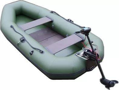 Лодка ПВХ Компакт-300Р гребная (С-Пб) (с транцем) Лодки гребные<br><br>