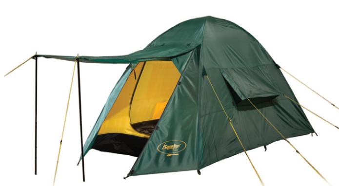 Палатка Canadian Camper ORIX 2 (цвет woodland дуги 8,5 мм)Палатки<br>Палатка ORIX 2 (цвет woodland дуги 8,5 мм)&amp;nbsp;вместительная <br>кемпинговая палатка с тамбуром, одной спальней <br>на 2 человек и двумя входами. Вход палатки <br>защищен от насекомых москитной сеткой. <br>Строение палатки позволяет над входом установить <br>козырек, укрывающий от солнечных лучей. <br>Высокая водостойкость модели позволяет <br>ее использовать даже в сезон дождей. Ткань <br>палатки изготовлена по технологии с усиленным <br>плетением, что в разы повышает ее прочность.<br>Характеристики Количество мест: 2<br>Масса, кг: 2.9<br>Материал дуг: стекловолокно<br>Водонепроницаемость дна, мм. водяного столба: <br>6000<br>Водонепроницаемость тента, мм. водяного <br>столба: 4000<br>Материал дна: Polyester 75D, 180T<br>Материал тента: Polyester 75D, 180T<br>Материал каркаса, стоек: сталь<br>Материал внутренней палатки: «дышащий» <br>полиэстер<br>Москитные сетки: есть<br>Внутренняя палатка: есть<br>Тип каркаса: внутренний<br>Герметизация швов: проклеенные<br>Защита от ультрафиолета: есть<br>Размеры внешней палатки (тента) (ДхШхВ), <br>см: 255x230x130<br>Размеры внутренней палатки (ДхШхВ), см: <br>135x220x120<br>Количество входов: 2<br>Количество комнат: 1<br>Количество тамбуров: 2<br>Вентиляционные окна: есть<br>Навес: есть<br><br>Сезон: лето<br>Цвет: зеленый