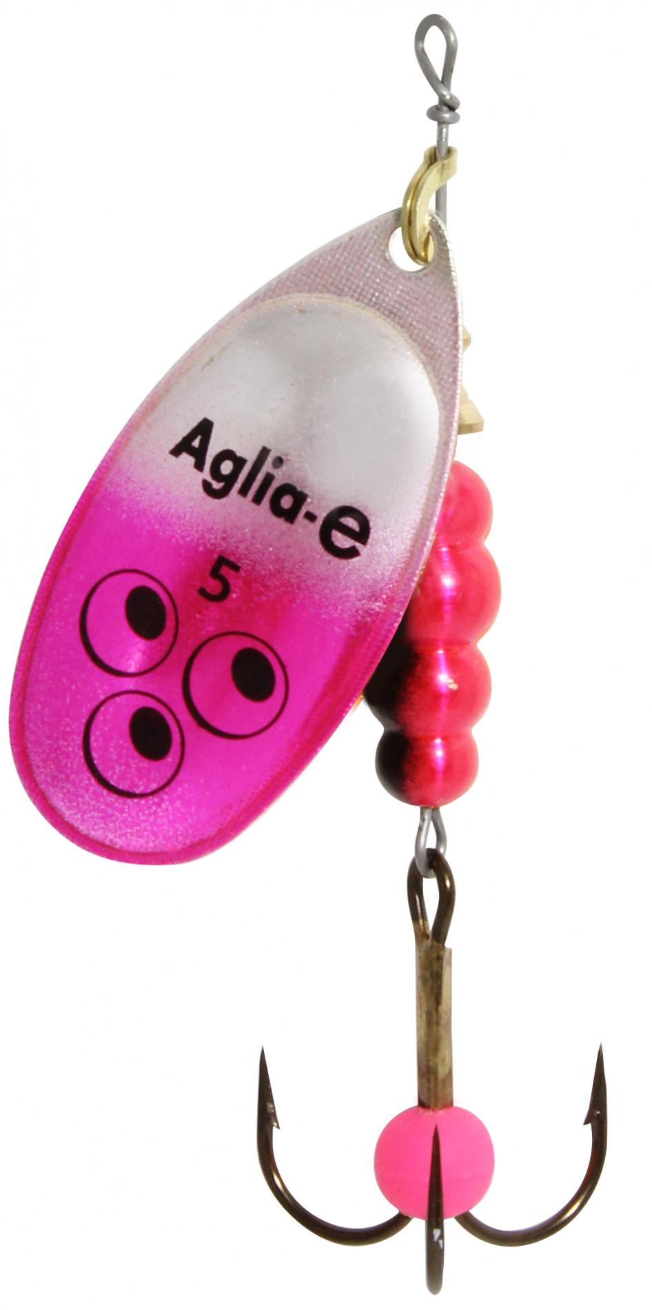 Блесна вращ. MEPPS Aglia E №5 Pink Bright (12шт)Блесны<br><br>