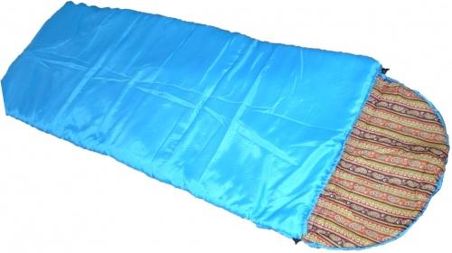 Мешок спальный Эконом СП-2Спальники<br>Описание: Классический спальный мешок <br>одеяло с подголовником. Разъёмная молния <br>позволяет развернуть спальный мешок в одеяло. <br>Ветро-влагозащитная внешняя ткань. Внутренняя <br>ткань из 100% хлопка создаёт комфортный микроклимат <br>внутри спального мешка. Два слоя современного <br>синтетического утеплителя дают возможность <br>комфортной ночёвки при температуре внешней <br>окружающей среды +15 градусов, а при использование <br>термобелья +10 градусов<br><br>Сезон: демисезонный