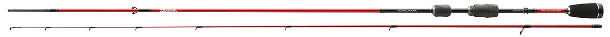 Спиннинг штек. DAIWA TD Trout Area Commander 2,00m (1-7г)Спинниги<br>Чувствительный вклеенный монолитный (solid) <br>кончик из твердого углеродного волокна <br>позволит увидеть и почувствовать даже осторожную <br>поклёвку. Чувствительный бланк передаст <br>каждое движение непосредственно к катушкодержателю <br>в стиле Skeletor и предоставит больше мощности <br>для борьбы с крупными экземплярами даже <br>в сильном потоке воды. Серия удилищ Trout Area <br>Commander идеально подходит для небольших воблеров, <br>твистеров и мини колебалок. Особенности: <br>Fuji Alconite кольца. Fuji катушкодержатель. Премиум <br>EVA ручка. Эксклюзивный транспортный чехол.<br>