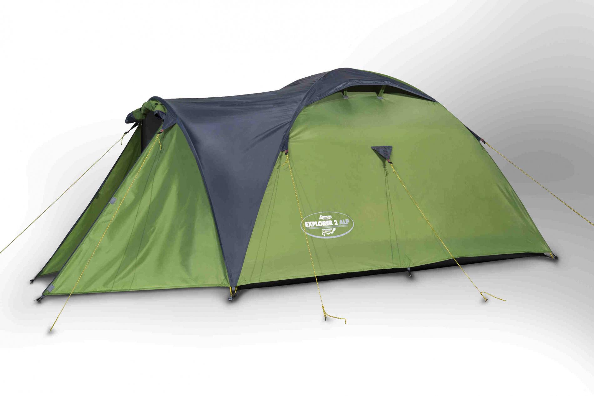 Палатка Canadian Camper EXPLORER 2 AL (цвет green) canadian camper cyclone 3 alu green