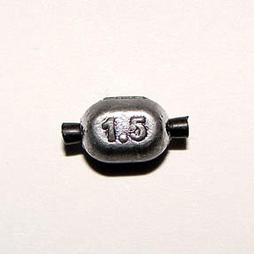 Грузило Свинцовое Овал С Трубочкой 001.5ГГрузила<br>Грузило свинц. ОВАЛ с трубочкой 001.5г вес <br>1,5г/кол. в упак. 25шт/на силиконовой трубочке <br>Для поплавочной и легкой донной снасти. <br>На каждом грузике нанесена маркировка веса <br>в граммах.<br><br>Сезон: Летний