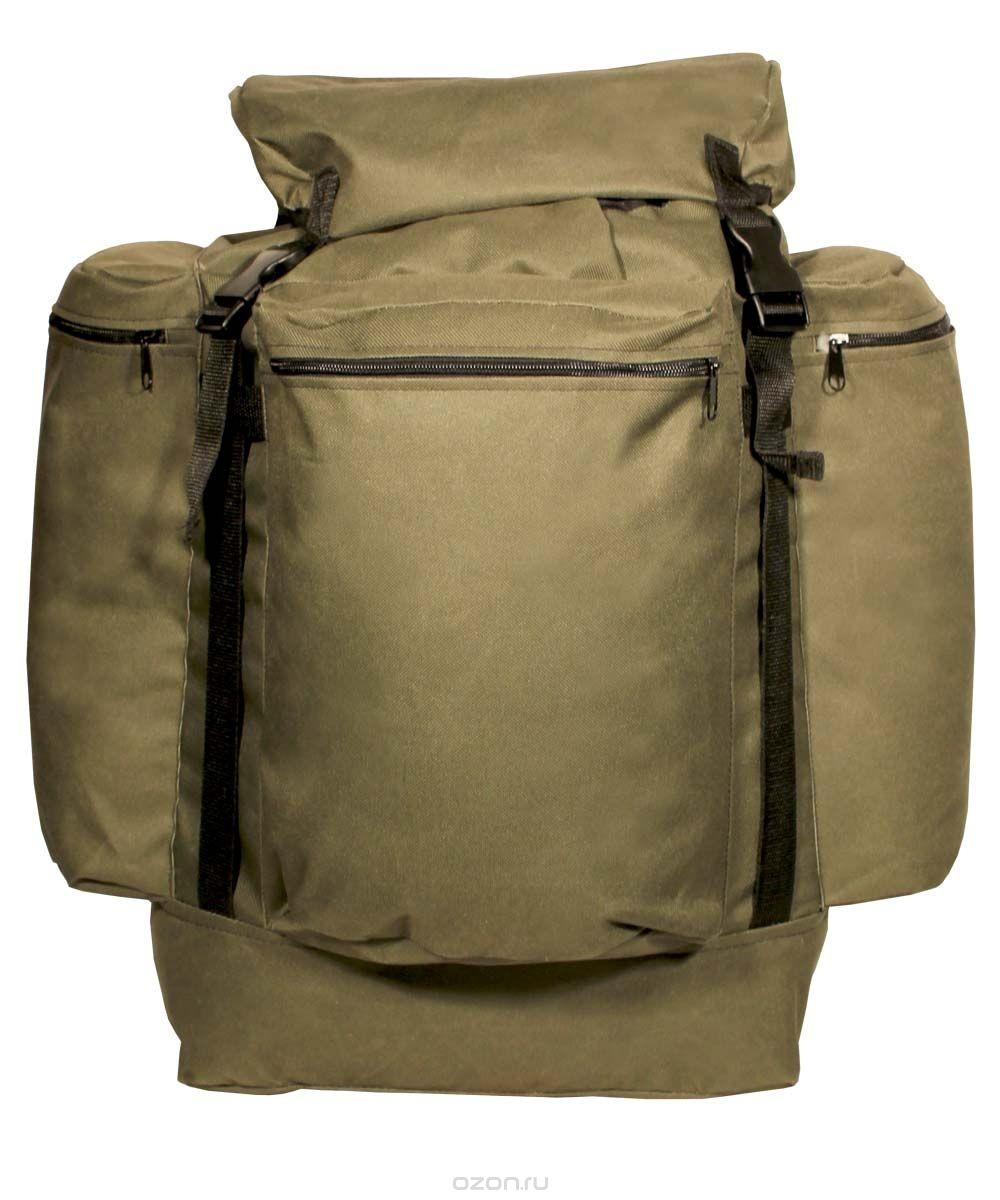 Рюкзак Универсал город 78л ПВХ600 хаки, оливаРюкзаки<br>Простой, надёжный рюкзак с верхней загрузкой <br>для загородных прогулок на природе. Компактность <br>рюкзака обеспечит маневренность, а отсутствие <br>высокого верхнего клапана расширит обзор <br>Технические характеристики: Регулируемые <br>лямки Одно большое отделение для снаряжения <br>на утяжке с верхним клапаном Верхний клапан <br>с дополнительным объёмом Регулировка высоты <br>верхнего клапана при помощи стропы и фастекса <br>Усилительные стропы на фронтальной части <br>и на верхнем клапане Три объёмных кармана <br>на молнии<br><br>Пол: унисекс<br>Цвет: оливковый