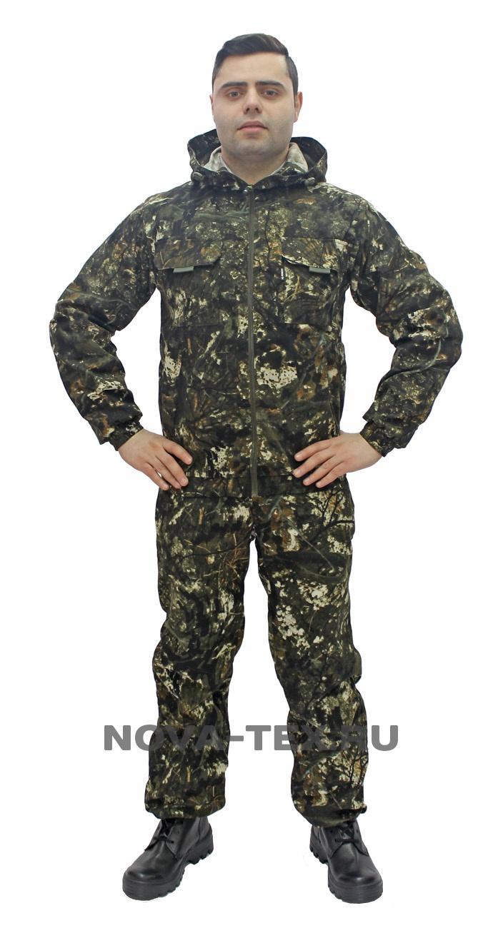 Костюм мужской Скаут (смесовая, бурелом), Костюмы неутепленные<br>«Скаут» летний универсальный костюм (ТМ <br>«Квест»). Удобство и практичность – вот <br>девиз этого костюма. Действительно в нем <br>есть все, что нужно для хорошего костюма: <br>короткая куртка с капюшоном, рукава собранные <br>на манжету, прямые брюки на резинке с утяжкой. <br>Никаких специальных, дополнительных функций <br>- только самый необходимый минимум и запатентованная <br>надежность от Novatex. В этом костюме есть что-то <br>от старой доброй стройотрядовской штормовки. <br>Отличное сочетание цены и качества!<br><br>Пол: мужской<br>Размер: 56-58<br>Рост: 170-176<br>Сезон: лето<br>Цвет: серый<br>Материал: текстиль
