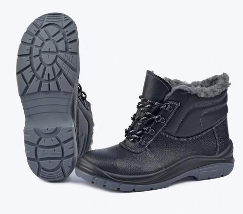 Ботинки Профит на иск.меху (ПУ/ТПУ) (42)Ботинки универсальные и рабочие<br>Универсальная высокотехнологичная модель <br>обеспечит комфорт и надежную защиту Ваших <br>ног, но главное – снизит травматизм. Верх <br>ботинок выполнен из натуральной кожи. Мягкий <br>кант из винилискожи защищает от боковых <br>ударов. Искусственный мех высокой плотности <br>сохраняет тепло даже в сильный мороз. Двухслойная <br>ПУ/ТПУ подошва обеспечивает хорошее сцепление <br>с поверхностью при температуре от -45 до <br>+120С в статическом положении, а при ходьбе <br>до +150С. Подошва устойчива к воздействию <br>агрессивных сред, МБС, КЩС. Вся область каблука <br>специально спроектирована таким образом, <br>чтобы поглощать удар (амортизировать) при <br>толчке и снижать ощущение усталости, передаваемое <br>на тело. Толщина подошвы обеспечивает отличную <br>теплоизоляцию. Самоочищающийся протектор. <br>Высота берец 135мм. ГОСТ28507-99, ГОСТ12.4.137-2001, <br>ТР ТС019/2011<br><br>Пол: унисекс<br>Размер: 42<br>Сезон: зима<br>Материал: натуральная кожа