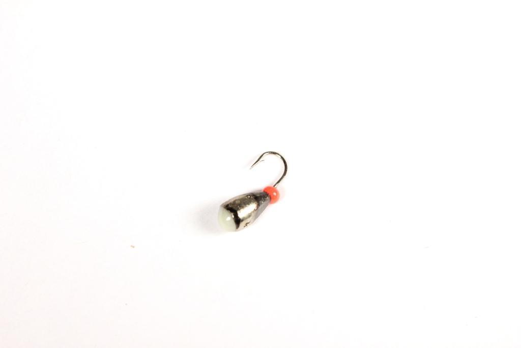 Морм. Вольф.Dixxon-Rus капля с отверстием и Мормышки<br>Мормышка вольфрамовая для подледной ловли. <br>Крючок - FUDO (Япония) Вес - 1,55 г Цвет - черный <br>никель<br>