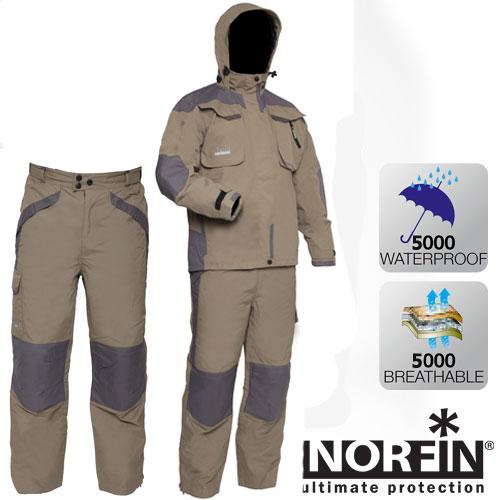 Костюм демисезонный мембранный Norfin Rapid Костюмы утепленные<br>Комбинированный костюм-дождевик разработан <br>специально для рыболовов. Изготовлен из <br>мембранного водонепроницаемого материала. <br>Прекрасно защитит от любой непогоды и осадков. <br>В комплект входит куртка и брюки. КУРТКА: <br>- два специальных кармана для рыболовных <br>приманок; - два боковых кармана на водонепроницаемой <br>молнии; - регулирующийся капюшон; - внутренний <br>карман для документов; - удлиненная спинка; <br>- стяжной низ; - утягивающиеся манжеты на <br>липучках; - усиленные вставки на плечах <br>и локтях; - подкладка из сетки для вентиляции; <br>- высокий воротник; - дополнительная вентиляция <br>подмышек. БРЮКИ: - пояс на резинке; - боковые <br>карманы; - задние карманы; - утягивающийся <br>низ брюк; - водонепроницаемая молния; - усиленные <br>вставки на коленях и седалище.<br><br>Пол: мужской<br>Размер: S<br>Сезон: демисезонный<br>Материал: мембрана