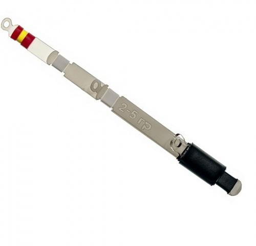 Сторожок Баланс-Р 10 См/тест 02.0-05.0Сторожки<br>Сторожок БАЛАНС-Р 10 см/тест 02.0-05.0 дл.10см/тест <br>2-5г/кол. в опт. уп.5шт Баланс-R представляют <br>собой 6-ти слойную рессорную конструкцию <br>из лавсановых пластин. Лавсан обеспечивает <br>высочайшую чувствительность кивка к поклевкам. <br>Большое количество слоев в рессорном наборе <br>делают движения кивка активными, а игру <br>приманки «Живой», позволяя рыболову экспериментировать <br>с игрой приманки в различных слоях воды. <br>Изменяемая длина сторожка позволяет регулировать <br>активность игры приманки в процессе ловли, <br>соблазняя пассивного хищника. Крупные пропускные <br>кольца не подвержены быстрому обмерзанию <br>и равномерно распределяют нагрузку по всей <br>длине кивка. Имеют двойную маркировку по <br>тесту – не стираемую надпись на бланке, <br>обозначенную в граммах и цветовую маркировку <br>кембриками, позволяющую быстро визуально <br>оценить мощность кивка. Представлены в <br>пяти вариантах жесткости и способны работать <br>с любым существующим балансиром.<br><br>Сезон: зима