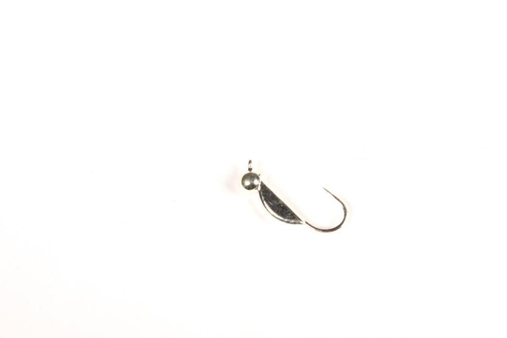 Морм. Вольф.Dixxon-Rus супер банан + шар M, серебро Мормышки<br>Мормышка вольфрамовая для подледной ловли. <br>Крючок - FUDO (Япония) Вес - 0,5г Цвет - серебро<br>