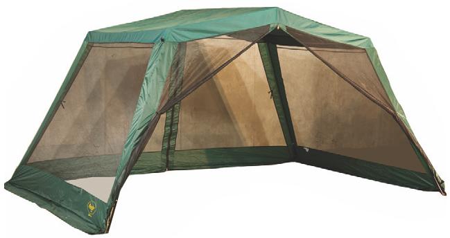 CANADIAN CAMPER Тент JOTTO (цвет WOODLAND) (высота 210см) со стойками 031800016