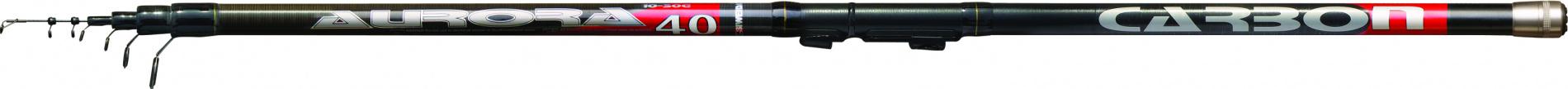 Удилище тел. SWD Aurora 4м с/к карбон IM8 (укороченное, Удилища поплавочные<br>Рейстайлинговая модель компактных телескопических <br>удилище для поплавочной ловли изготавливается <br>с этого сезона из карбона IM8. Основные характеристики <br>удилища: длина 4,0м (в сложенном состоянии <br>105см), количество секций - 5, вес - 200г, максимальный <br>вес оснастки - до 30г. Удилище оснащено облегченными <br>кольцами SIC, быстродействующим катушкодержателем <br>типа Clip Up, специальной вставкой из EVA для <br>предотвращения повреждения проводочных <br>колец при транспортировке и металлической <br>пробкой на комле. Предназначено для всех <br>видов поплавочной ловли и подойдет как <br>для начинающих, так и для опытных рыболовов.<br>