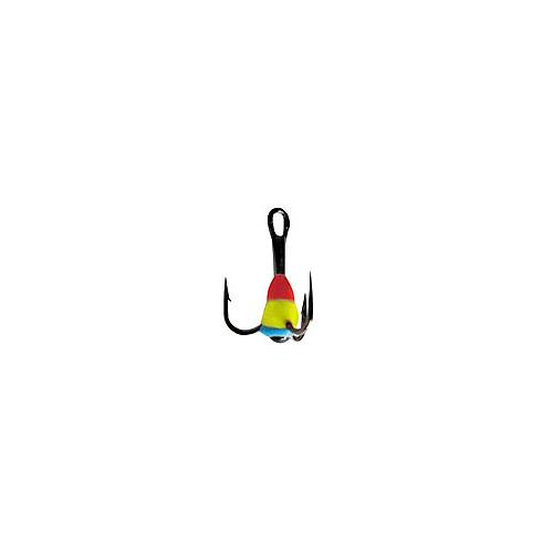 Крючок-Тройник Для Приманок Lucky John С Каплей Тройники для приманок, цепочки<br>Крючок-тройник для приманок Lucky John с каплей <br>цвет. разм.010/RYB разм.10 /расцв.RYB/кол.в уп.10 <br>Тройники VMC с пластиковой цветной каплей. <br>Используется для комплектации балансиров <br>и вертикальных блёсен.<br><br>Сезон: зима