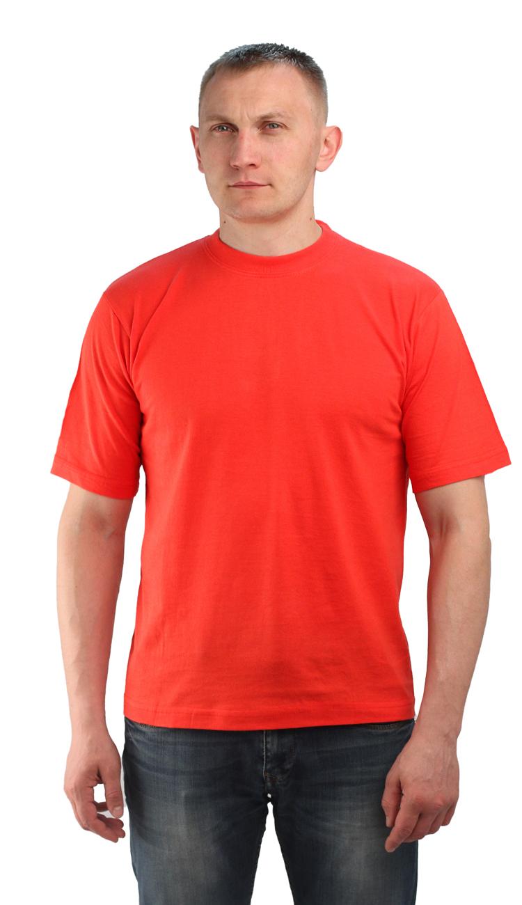 Футболка красная (XL)Футболки к/рукав<br>Классическая футболка из мягкого эластичного <br>трикотажа. - прямой силуэт - короткий рукав <br>- круглый вырез горловины Размеры: M-XXXL<br><br>Пол: мужской<br>Размер: XL<br>Сезон: все сезоны<br>Цвет: красный<br>Материал: Трикотаж (95% - х/б, 5% - лайкра), пл. 160 г/м2.