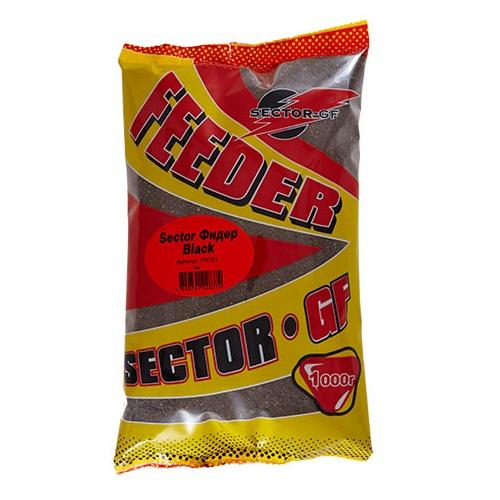 Прикормка Gf Sector Фидер Black 1.000КгПрикормки<br>Прикормка GF Sector ФИДЕР Black 1.000кг пакет 1кг/ароматика:фирменная/цвет:черный/кратн. <br>короба 16шт. Высококачественная прикормка <br>для тяжелых условий лова со средней активностью, <br>мелким помолом, ярко выраженным фирменным <br>ароматом. Состав: бисквиты, печенье, сладкая <br>кукуруза, сухарь, конопля, лен, рыбная мука, <br>активаторы клева, ароматизаторы, усилители <br>вкуса и аромата, фирменные ингредиенты.<br><br>Сезон: лето