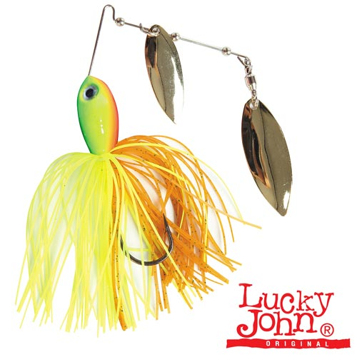 Спиннербейт Lucky John Spinner Bait Double Avalanche 28.0Г 25