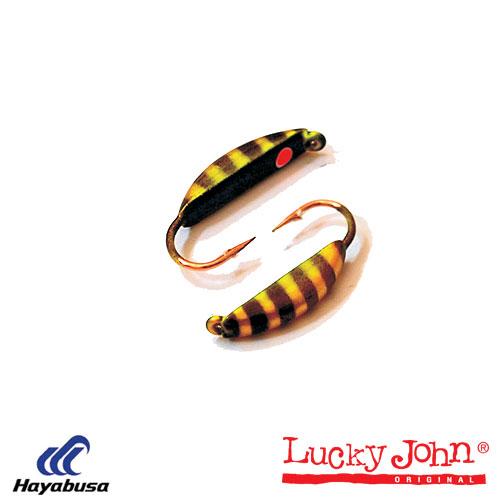 Мормышка Вольфрамовая Lucky John Банан Супер Мормышки, джиг-головки зимние<br>Мормышка вольф. Lucky John БАНАН супер с петел. <br>040/45 диам.40мм/разм.крючка 10/вес0,85г/расцв.45/кол.в <br>уп.5 Классическая форма мормышки, на которую <br>можно ловить рыбу и без насадки. Наличие <br>достаточного арсенала приманок - гарантия <br>быстро подобрать ключик к результативной <br>ловле капризной рыбы. Мормышка привязывается <br>к леске за петельку.<br><br>Сезон: зима<br>Материал: Вольфрам