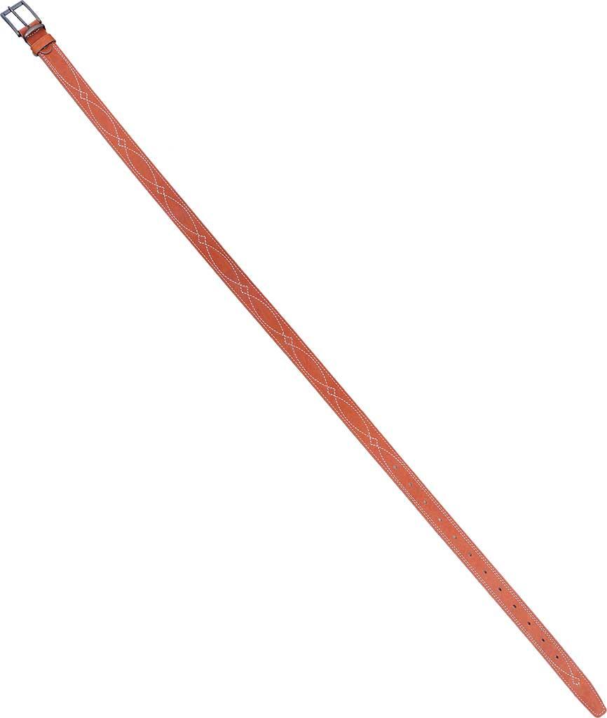Ремень ХСН брючный 30 мм (367-1) (Светло-золотой, Ремни<br>Ремень изготовлен в традиционной форме <br>из натуральной кожи. Итальянская фурнитура <br>практически не звенит и не дает бликов. <br>Элитная кожа натурального сквозного прокраса. <br>Особенности: - ширина 30 мм<br><br>Пол: мужской<br>Размер: № 3 - 130 см<br>Сезон: все сезоны<br>Материал: Натуральная кожа