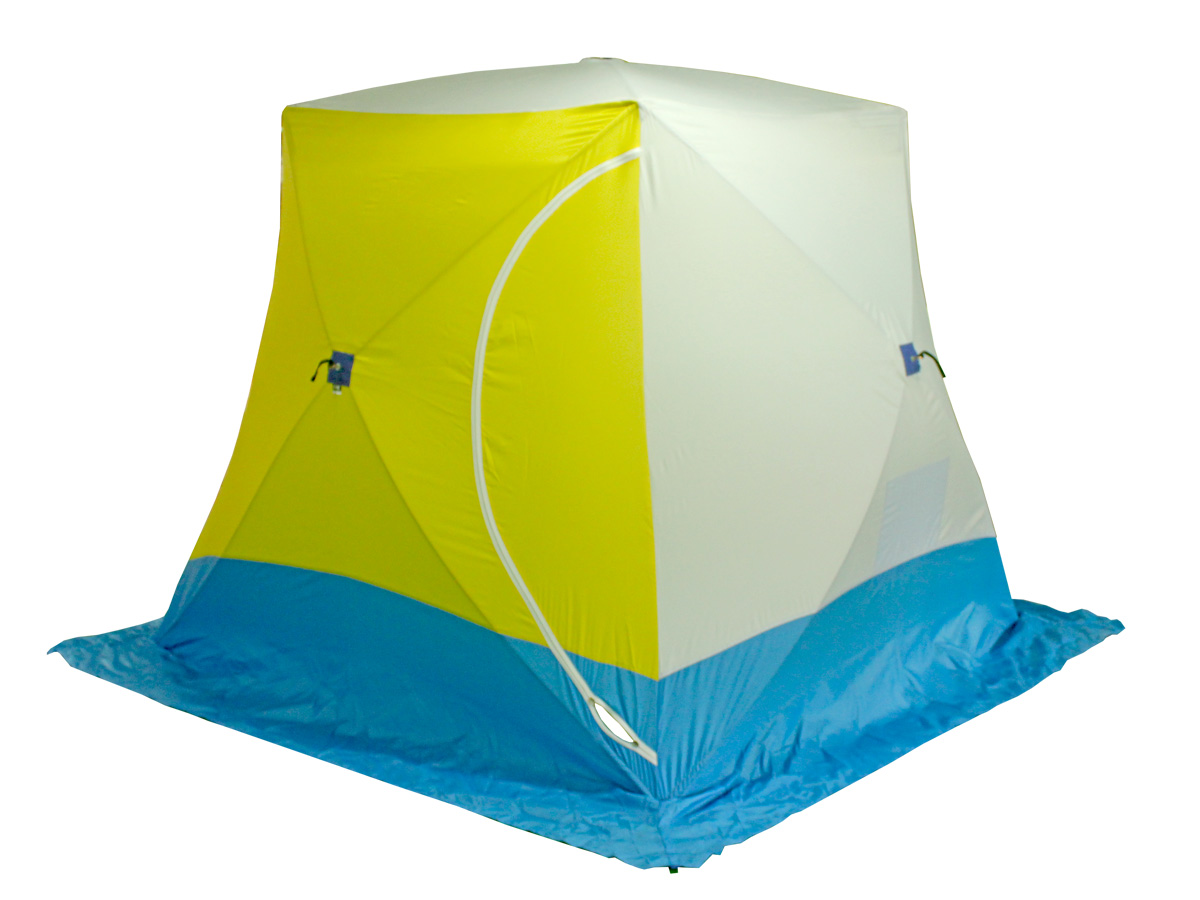 Палатка рыбака КУБ-3 (Стэк) палатки фьорд нансен купить в луганске