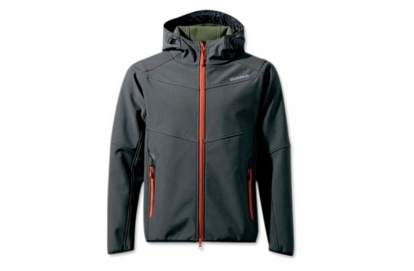 Куртка Shimano Soft Shell Jacket (Black)