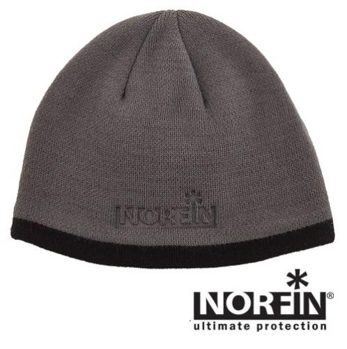 Шапка Norfin ExplorerШапки<br>Шапка Norfin EXPLORER р.L разм.L/мат.акрил 100%/цв.сер <br>Теплая, зимняя шапка из высококачественного <br>акрила.<br><br>Пол: мужской<br>Размер: L<br>Сезон: зима<br>Цвет: серый
