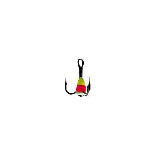 Крючок-Тройник Для Приманок Lucky John С Каплей Тройники для приманок, цепочки<br>Крючок-тройник для приманок Lucky John с каплей <br>цвет. разм.008/YRF разм.8 /расцв.YRF/кол.в уп.10 <br>Тройники VMC с пластиковой цветной каплей. <br>Используется для комплектации балансиров <br>и вертикальных блёсен.<br><br>Сезон: зима