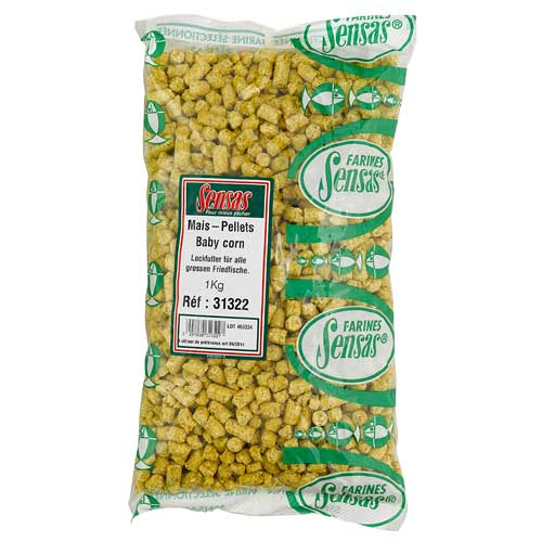 Добавка В Прикормку Sensas Baby Corn 1КгГрунты, глины и ингредиенты<br>Добавка в прикормку Sensas BABY CORN 1кг кукурузный <br>пеллетс/10-20% от объема/упак.1кг. BABY CORN - отличная <br>добавка к вашей прикормке, привлекающая <br>прежде всего леща и карпа. Добавлять в смесь <br>10-20% от объема вашей прикормки.<br><br>Сезон: лето