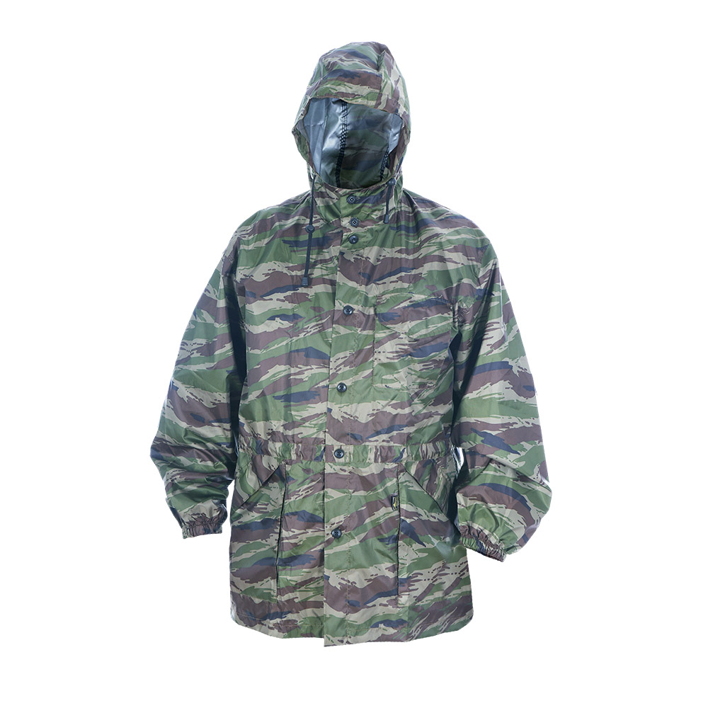 Штормовка ХСН (Камуфляж, 46 - 48 / 176, 917)Куртки неутепленные<br>Отлично подойдет для защиты от непогоды. <br>Легкий вес и компактная упаковка позволит <br>взять ее с собой. Изготовлена из ткани с <br>водоотталкивающей полиамидной пропиткой. <br>Особенности: - свободный крой; - утягивающийся <br>капюшон; - застегивается на пуговицы; - эластичные <br>манжеты; - регулировка пояса.<br><br>Пол: мужской<br>Размер: 46 - 48 / 176<br>Сезон: лето<br>Цвет: зеленый<br>Материал: Taffeta (Тафета)
