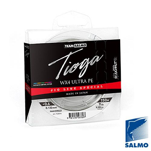 Леска Плетёная Team Salmo Tioga Multi Colour 150/017Леска плетеная<br>Леска плет. Team Salmo TIOGA Multi Colour 150/017 дл.150м/диамм.0.171мм/тест <br>5.4кг/инд.уп. Цветной РЕ шнур, имеющий сверхплотное <br>плетение из 4 прядей, обеспечивающее ему <br>высочайшую гладкость и прочность. Шнур <br>окрашен в пять ярких расцветок, чередующихся <br>каждые 10 метров, что позволяет визуально <br>контролировать дальность заброса и дистанцию, <br>на которой происходят поклевки рыбы. Изготавливается <br>диаметром от 0,132 до 0,242 мм, с разрывной нагрузкой <br>от 4,2 до 12 кг. Размотка на высокотехнологичные <br>шпули Doughnut по 150 метров. Изготавливается <br>и разматывается на специализированном <br>заводе в Японии. ? высокая прочность ? калиброванное <br>сечение ? повышенная износостойкость ? максимальная <br>дальность заброса приманки ? контроль дистанции, <br>где происходят поклевки ? высочайшая чувствительность<br><br>Цвет: разноцветный