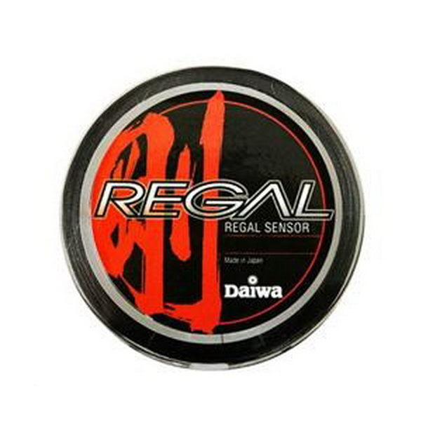 Леска плетеная Daiwa Regal Sensor #1,5-15LB (150M) GreenЛеска плетеная<br>Леска плетеная из материала Super PE выполнена <br>менее эластичной для достижения большей <br>чувствительности. Без памяти, цвет черный.<br>