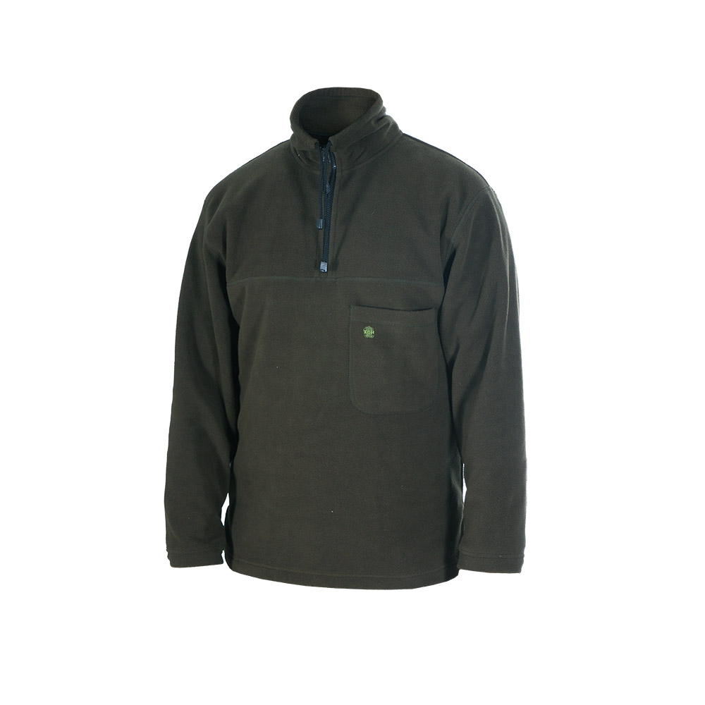 Толстовка ХСН флис (Хаки, 62 - 64 / 182, 761-6)Куртки флисовые<br>Толстовка из поларфлиса подойдет для пеших <br>прогулок ранней осенью и идеально в качестве <br>дополнительного утеплителя. Комфортная <br>температура эксплуатации: от +5°С до +20°С. <br>Особенности: - хорошо сохраняет тепло; - <br>нагрудный карман; - высокий воротник.<br><br>Пол: мужской<br>Размер: 62 - 64 / 182<br>Сезон: все сезоны<br>Материал: поларфлис