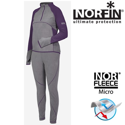 Термобелье Norfin Women Performance Violet