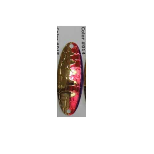 Блесна Колеблющаяся Lucky John Croco Spoon Shallow Water • Concept 15.0Г 014