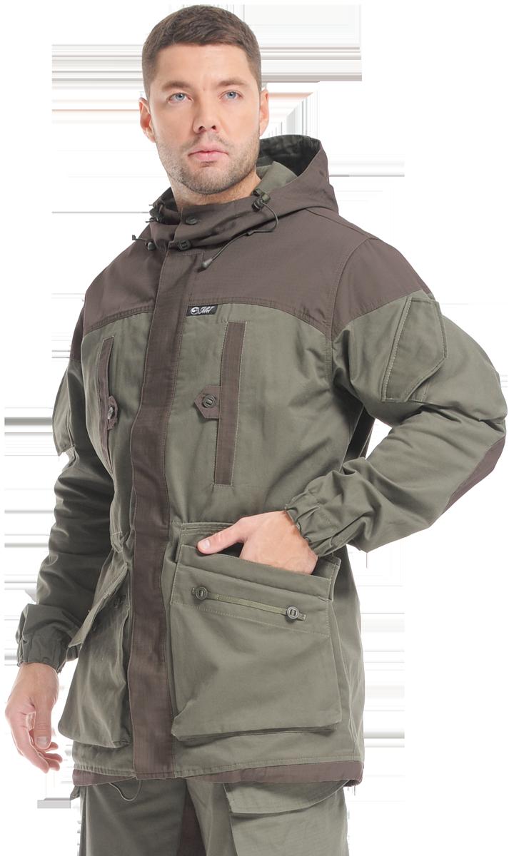 Куртка-ветровка Sobol ПЕРЕВАЛ-2, хаки (60-62, Куртки неутепленные<br>Изготовлена из прочного износоустойчивого <br>материала. Отлично подойдет любителям охоты <br>и рыбалки в межсезонье. Очень функциональная <br>модель. Особенности: - свободный крой; - потайная <br>застежка; - регулируемый капюшон; - карманы <br>на груди; - карманы на рукавах с клапанами; <br>- внутренний влагозащитный карман; - съемная <br>вставка на локтях; - возможность регулировать <br>объем талии с помощью шнура; - утягивающийся <br>низ.<br><br>Пол: мужской<br>Размер: 60-62<br>Рост: 170-176<br>Сезон: лето<br>Цвет: хаки