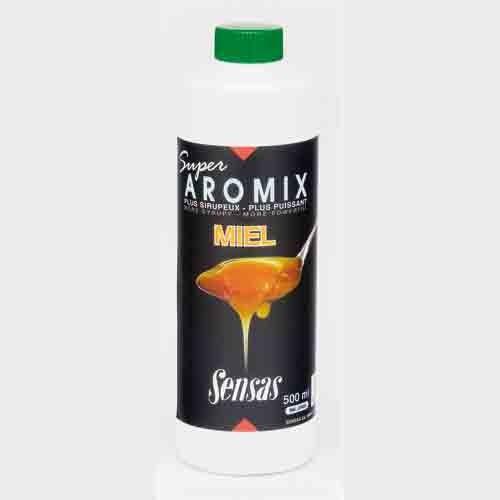 Ароматизатор Sensas Aromix Miel 0.5ЛАроматизаторы<br>Ароматизатор Sensas AROMIX Miel 0.5л сироп/мёд/10-25% <br>от объема воды/уп.0,5л Сладкий медовый сироп <br>также является новинкой в широком ассортименте <br>AROMIX. Рекомендуем добавлять в прикормку <br>при ловле карпа и другой крупной рыбы.<br><br>Сезон: лето